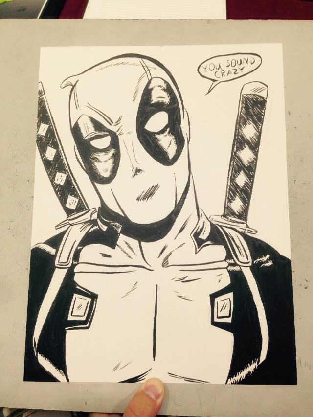 Con Sketch: Deadpool