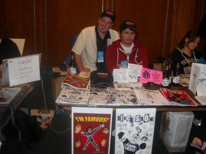 Michael and Alex Black Snow Comics