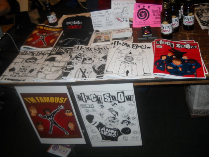Black Snow Comics merchandise
