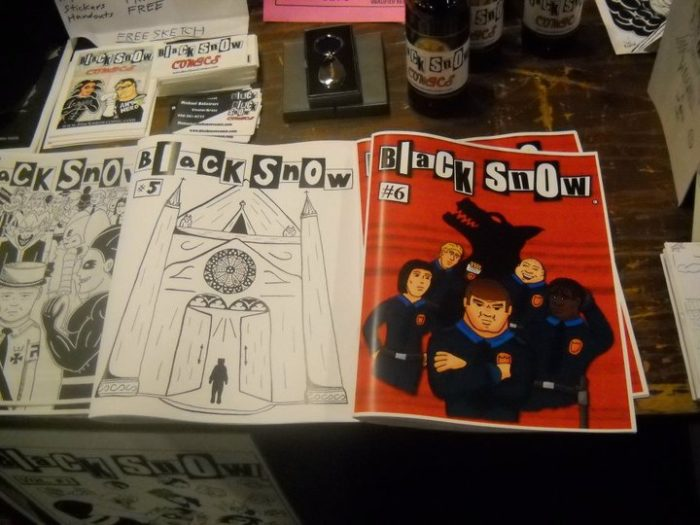 Black Snow comic book issues