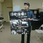 Alex with the Black Snow Comics poster