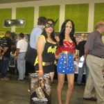 Batgirl and Wonder Woman Cosplay