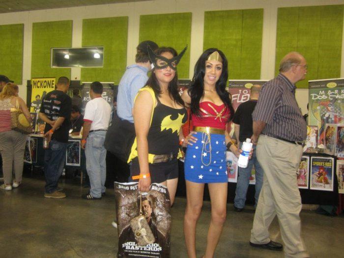 Batgirl and Wonder Woman Cosplay