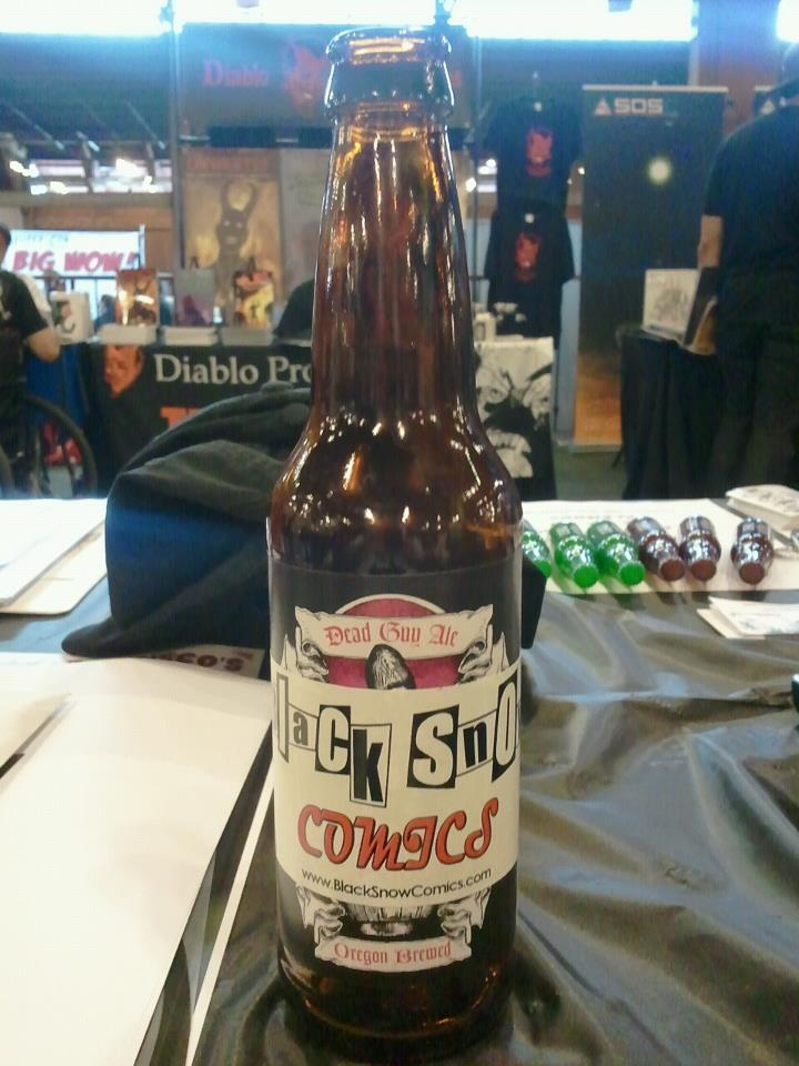 Black Snow Comics beer