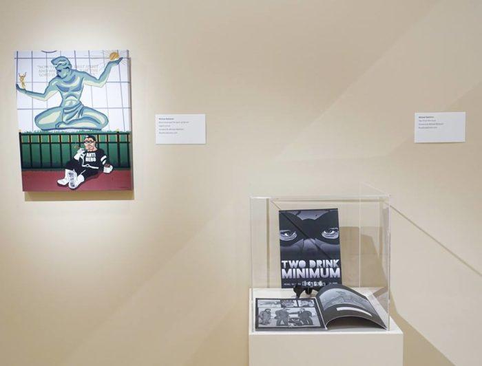 Black Snow Spirit of Detroit Exhibit
