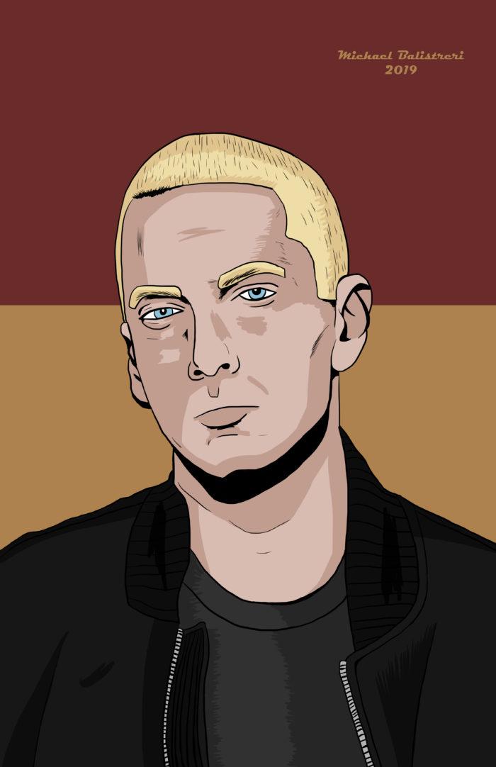 Eminem drawing