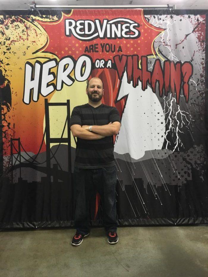 Michael Balistreri at Heroes & Villains Fan fest 2016