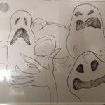 Nightmare Before Christmas ghosts