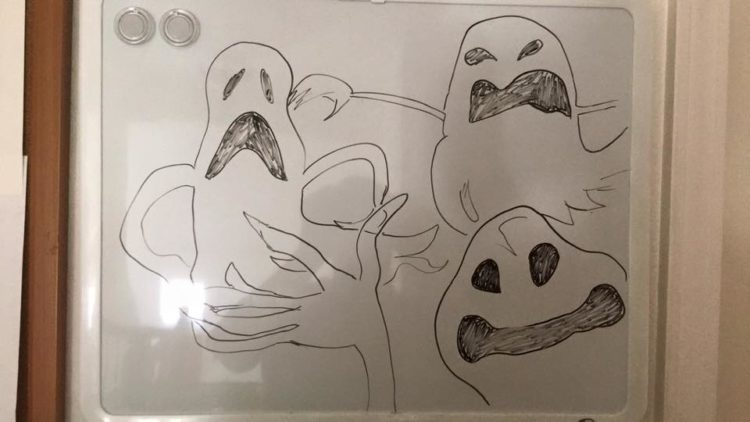 Nightmare Before Christmas ghosts