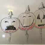 Nightmare Before Christmas pumpkins