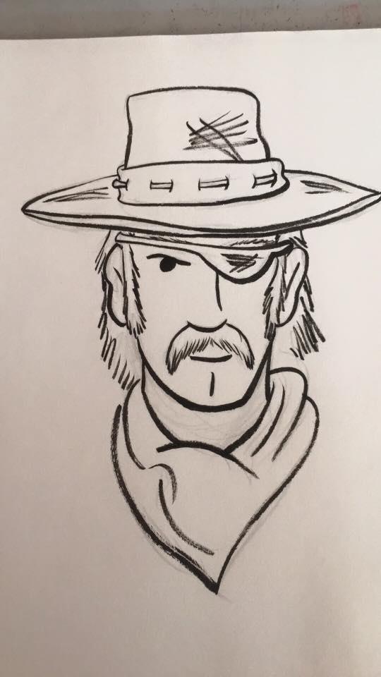 Paranormal Pinkerton concept sketch