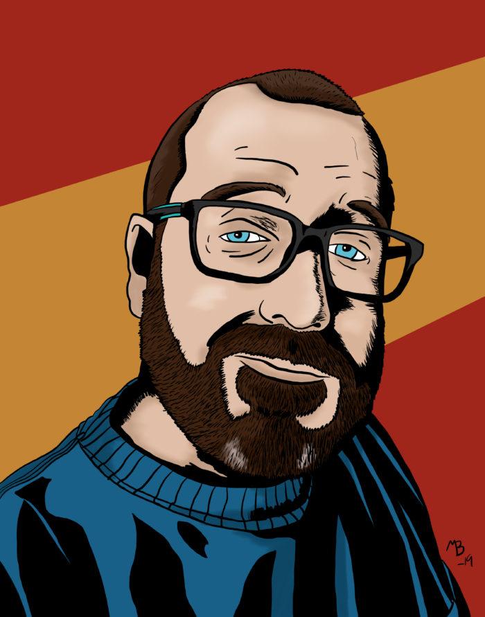Michael Balistreri Self Portrait