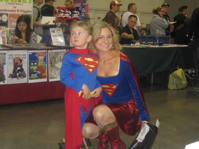 Superman Family Cosplay