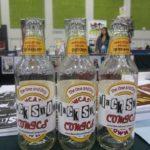 empty Black Snow beer bottles