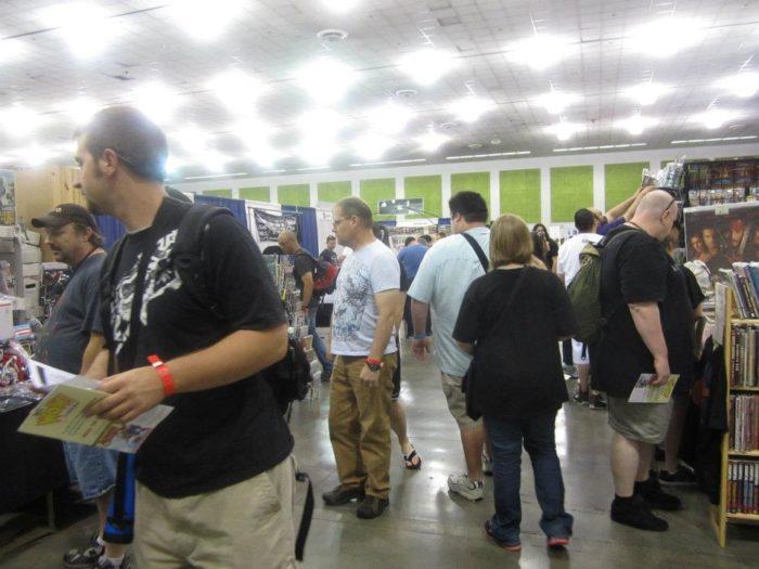 gathering of comic nerds