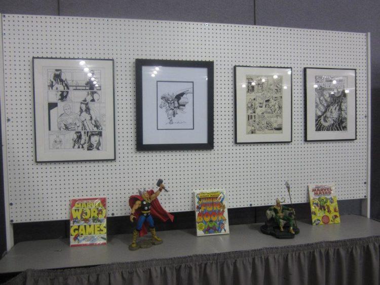 original Avengers art