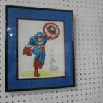 original Captain America drawing