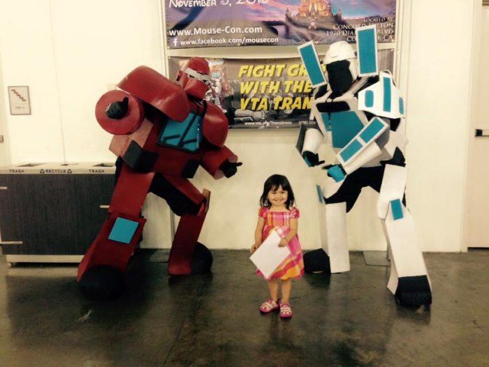 robot cosplay
