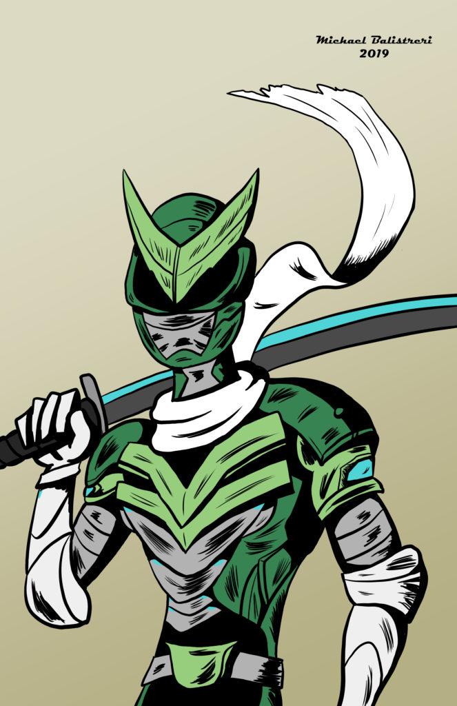 Genji Sentai costume