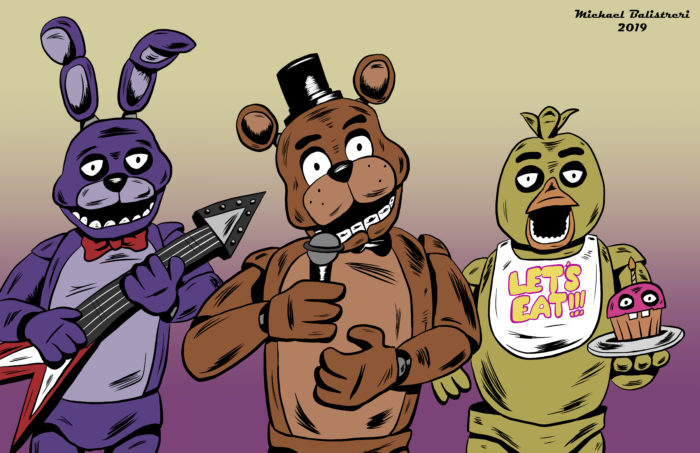 Freddy, Bonnie and Chica