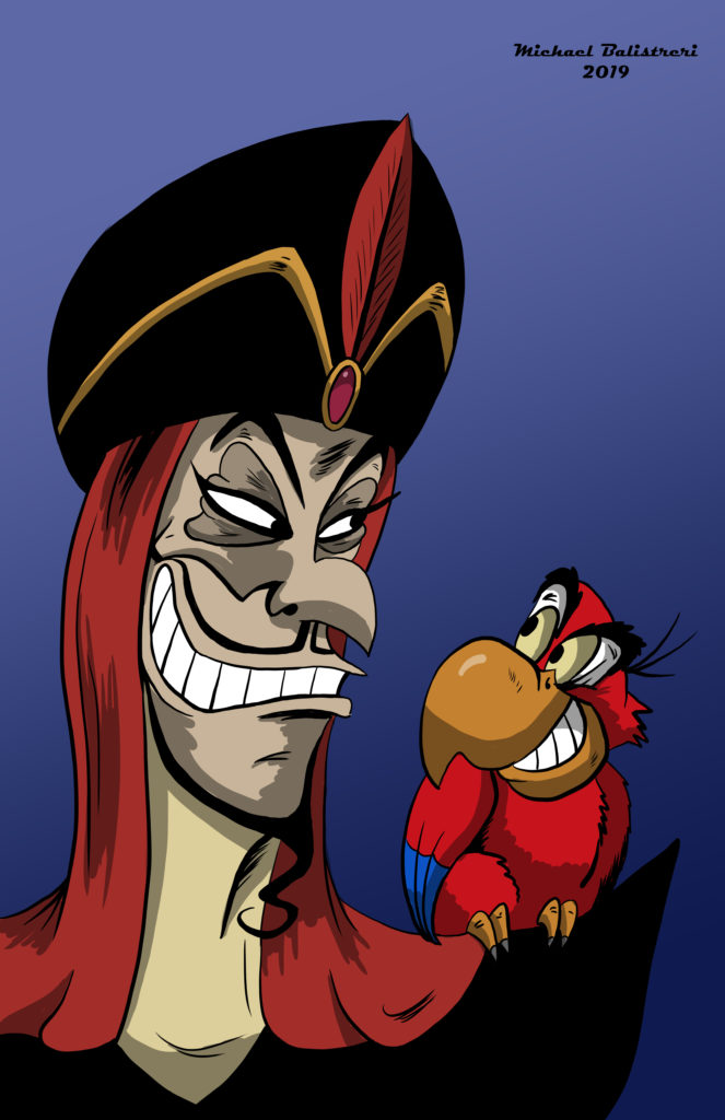 Jafar and Iago