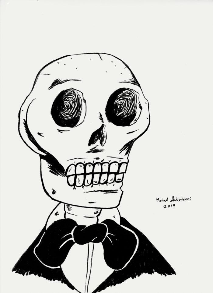 Well Dressed Skeleton