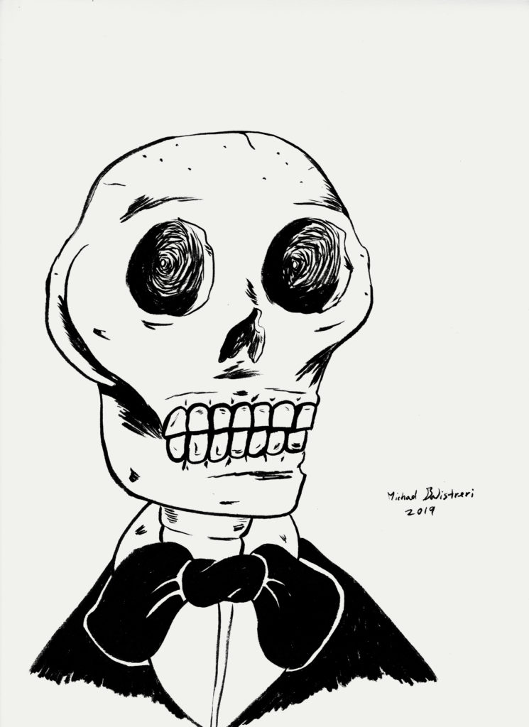 Well Dressed Skeleton