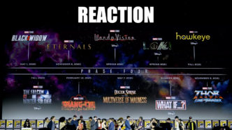 Reacting to Marvel Phase 4 Announcements