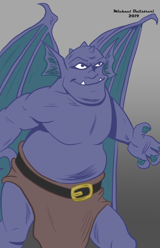 Broadway from Disney's Gargoyles