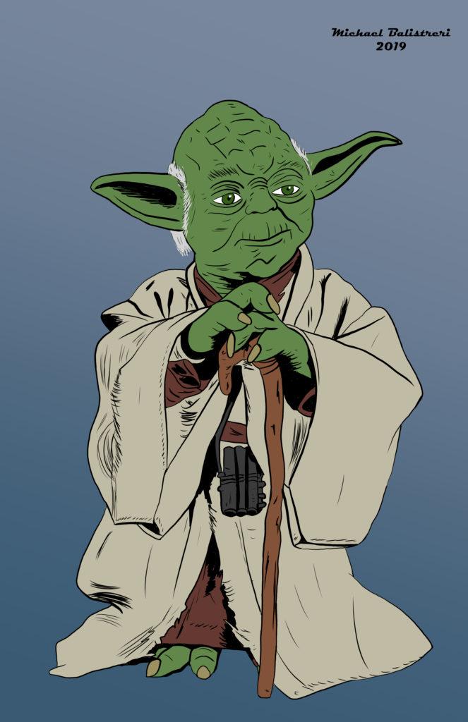 Yoda drawing