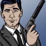 Archer drawing