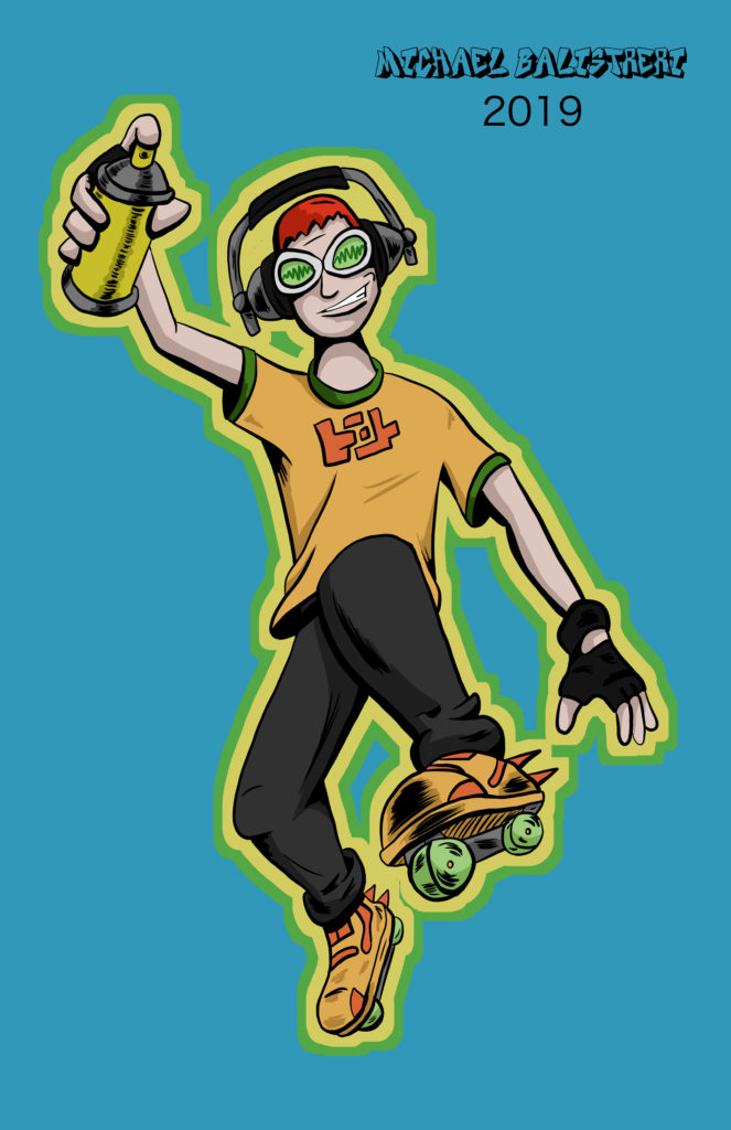 Beat from Jet Grind Radio