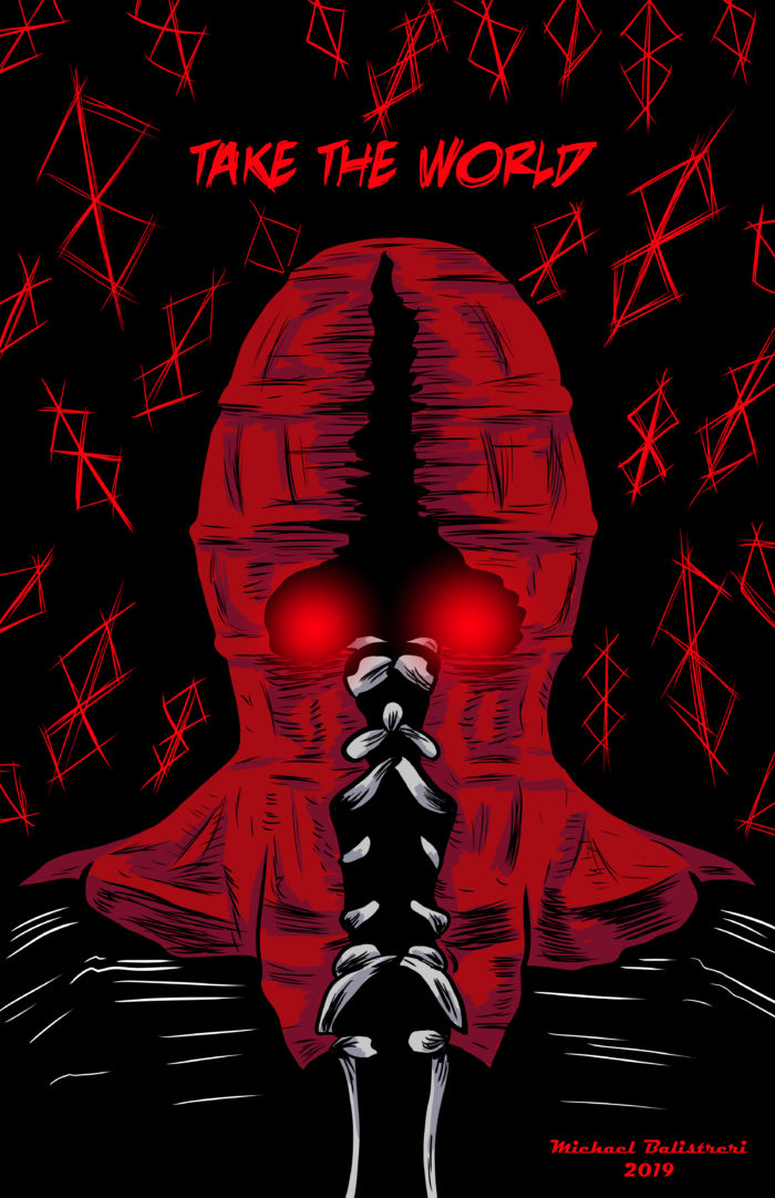 Brightburn drawing
