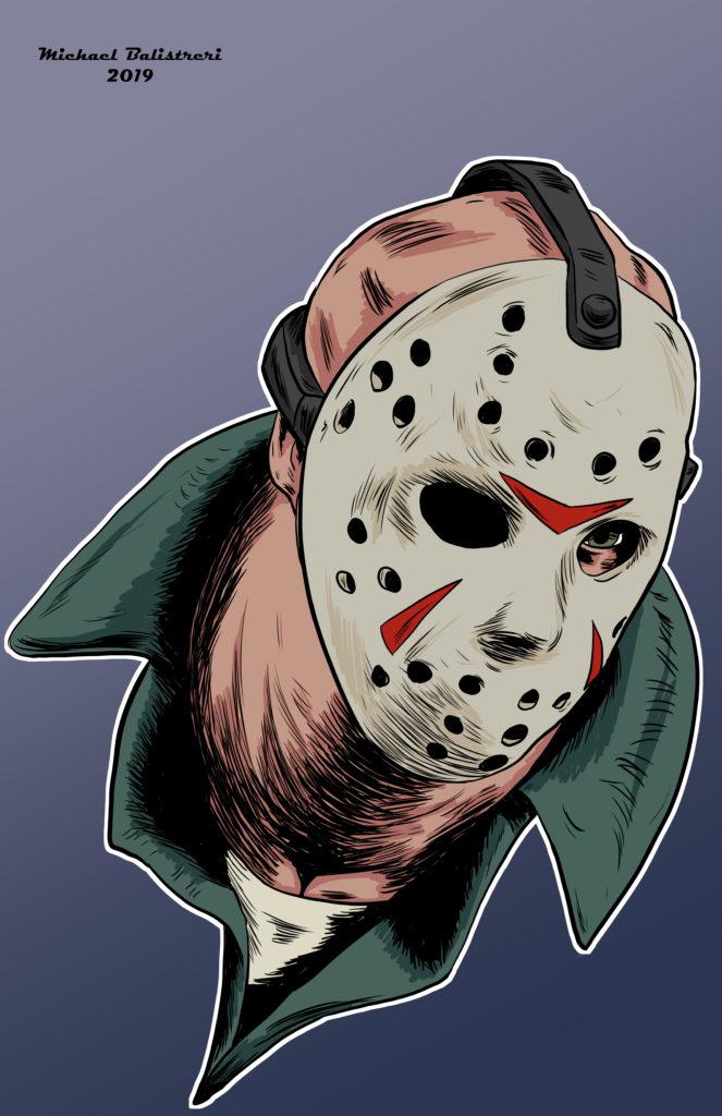 Jason Voorhees drawing