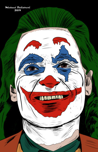 Joaquin Phoenix Joker drawing