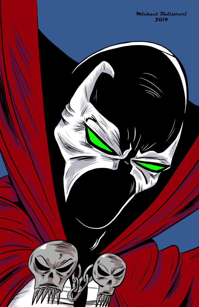 Spawn drawing