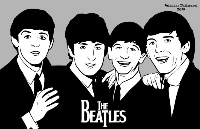 The Beatles fan art