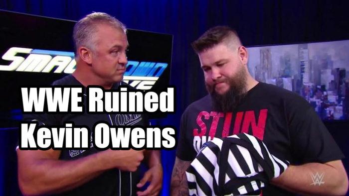 WWE Ruined Kevin Owens - Talking Wrestling