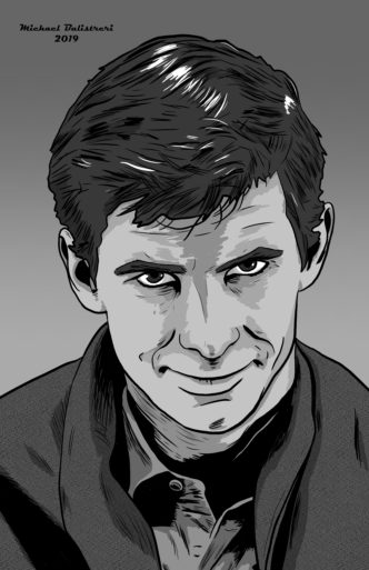 Anthony Perkins as Norman Bates