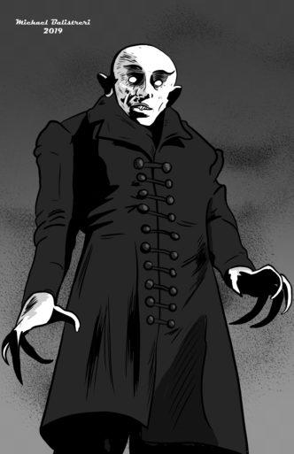 Max Schreck as Count Orlok in Nosferatu