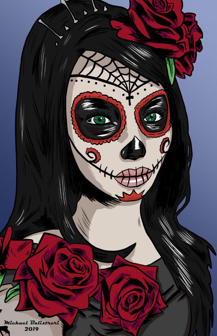Dia De Los Muertos - La Catrina