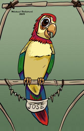 Jose Disney's Enchanted Tiki Room.