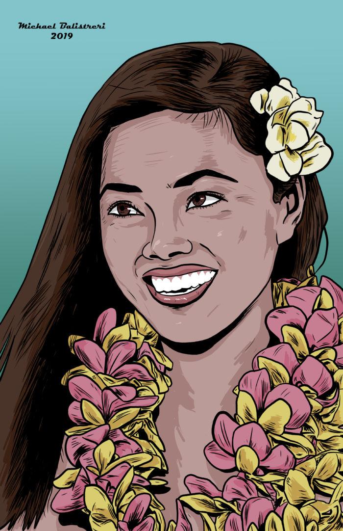 Beautiful Polynesian Woman