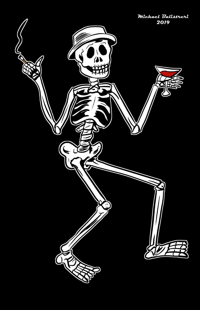 Social Distortion Skeleton Logo