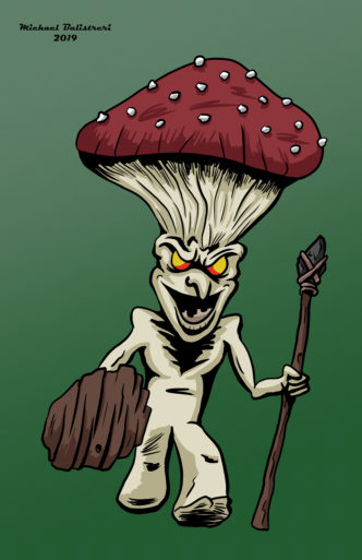 Mean Mushroom Man