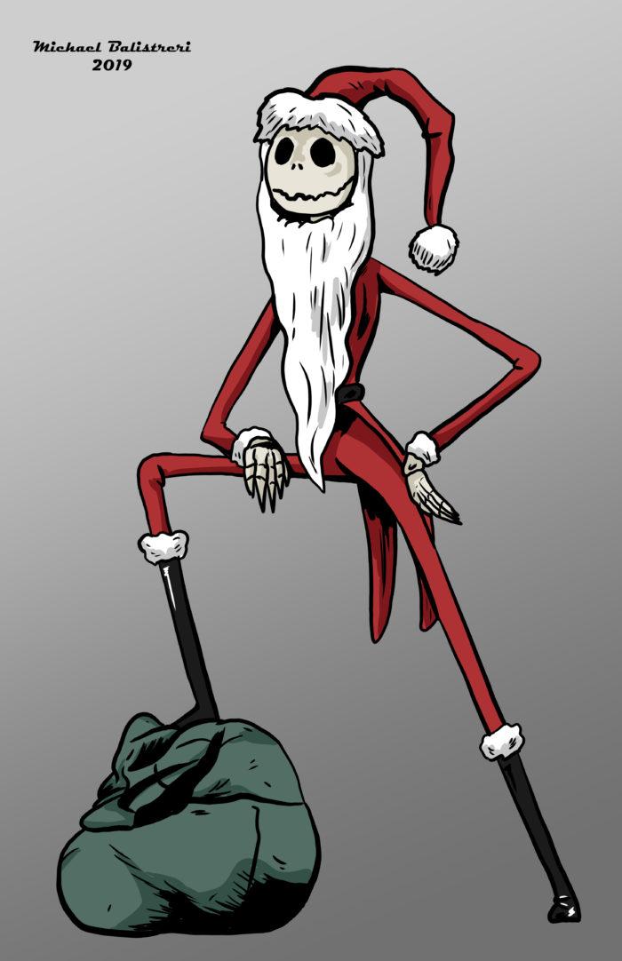 Santa Jack Skellington