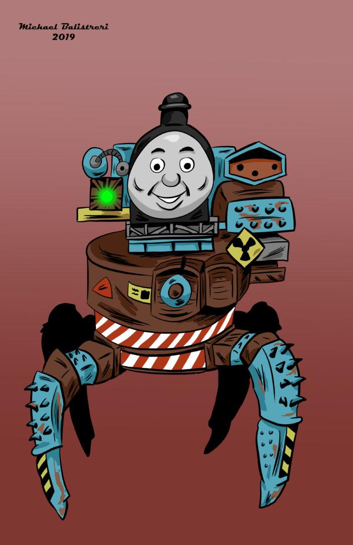 Thomas the Tank Engine Spider Robot