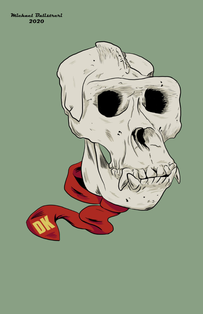 Donkey Kong Skull