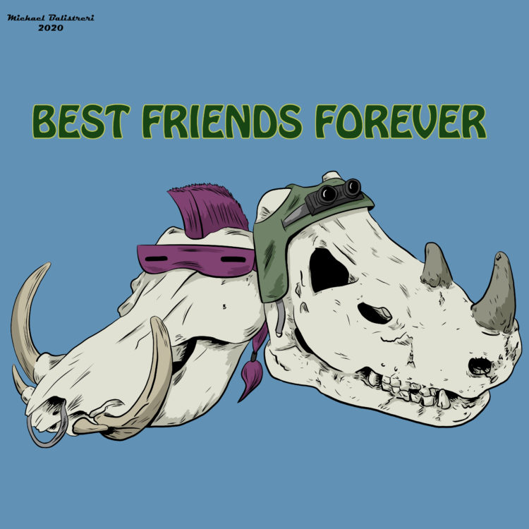 Rocksteady and Bebop - Best Friends Forever
