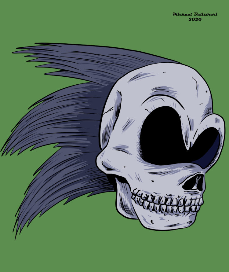 Sonic the Hedgehog Skull